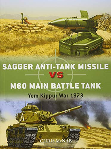Sagger Anti-Tank Missile vs M60 Main Battle Tank: Yom Kippur War 1973 (Duel, Band 84)