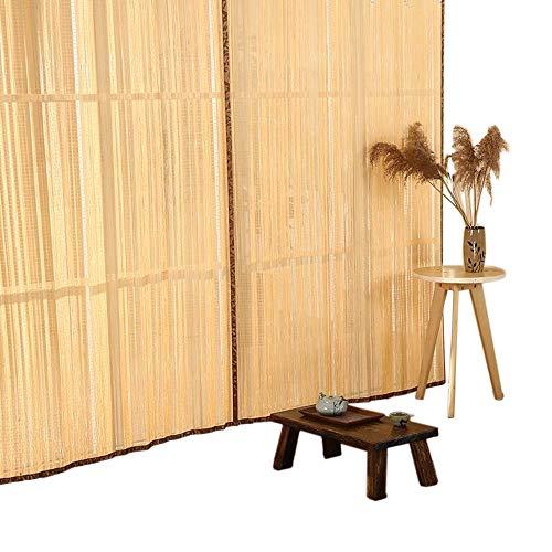 Jcnfa-Roller Blind Bamboe Rolgordijnen Verticaal Gordijn Schuifgordijn Verduisterd Zonnescherm Balkon Badkamer Hotel Home Window Deur,