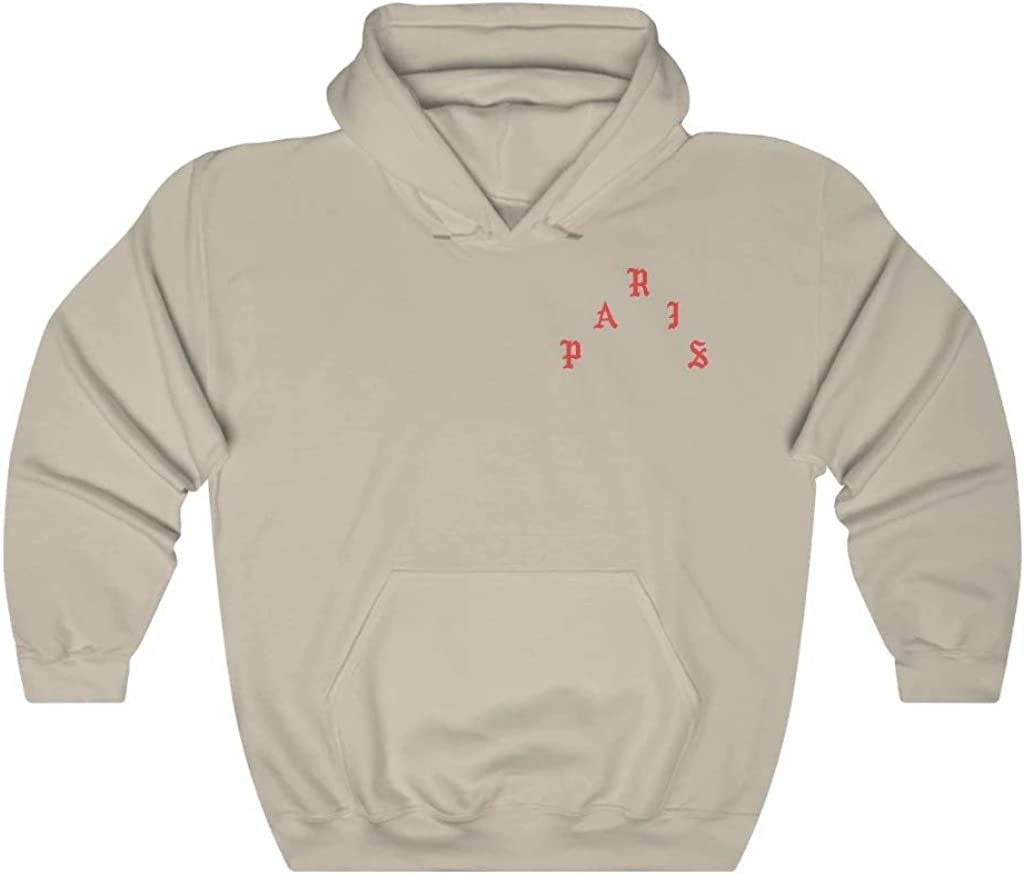 Paris I Feel Like Pablo Free shipping on posting reviews Unisex Blend New life Sweatshirt Hooded Heavy hoo