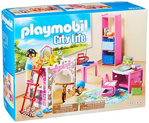 PLAYMOBIL City Life Habitación Infantil , A partir de 4 años (9270)