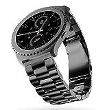 SUNDAREE Compatible avec Gear S2 Classic Bracelet de Montre,20MM Noir Bracelet de...
