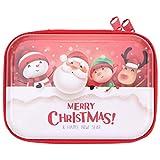 Hemoton Weihnachtsmünze Geldbörsen Taschen Weihnachtsdosen Schalen Wechseln Geldbörse Münztasche Beutel Mini Brieftaschen Bonbonbehälter Zinnhalter Box Weihnachtsbaumschmuck für Schlüssel