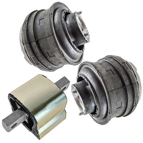 Hydraulic Engine & Transmission Mount Set for Mercedes Benz C280 CLK320 E320