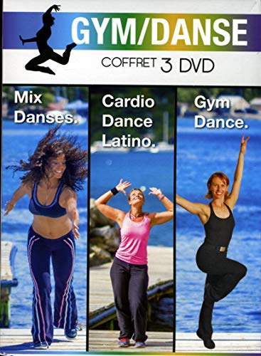 Coffret Mix Danses + Cardio Latino + Gym Dance