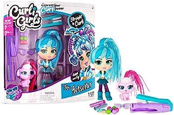 Basic Fun CurliGirls Adeli The Jetsetter & Fiji Hairstyling Doll