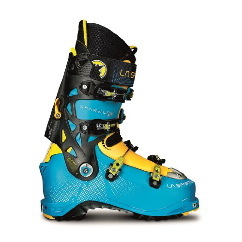 La Sportiva Sparkle Cosmic skischoenen, blauw / geel, maat 24,5