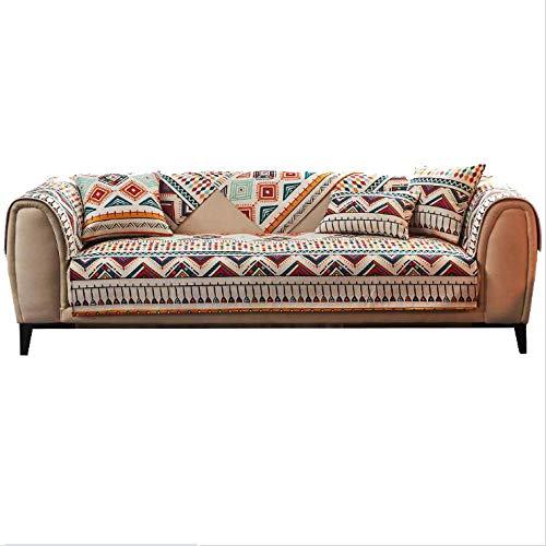 Gramke Funda de sofá Antideslizante antiincrustante combinable, Funda de protección de Muebles, Adecuada para sofás de Cuero, Cojines de sofá de Tela, (una Pieza es una Talla/no Todas)