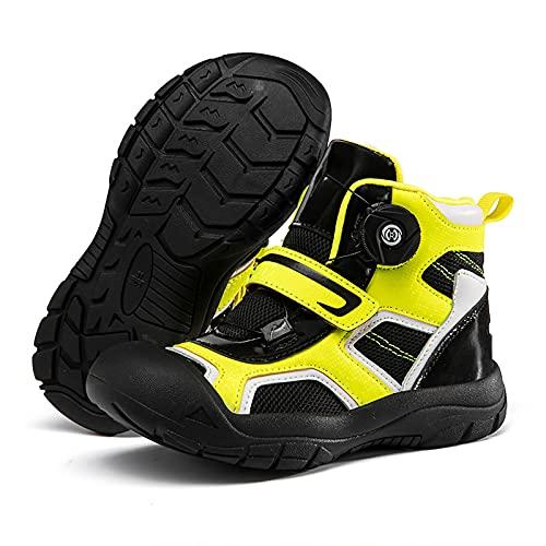 Scarpe da Ciclismo Bambino, Sneakers Donna Uomo MTB Scarpe da Bici per Il Tempo Libero Pedali Bicicletta Scarpe Sportive Sportive