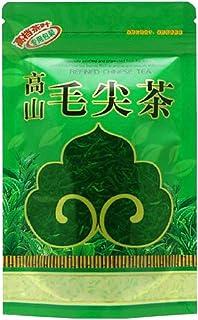 山の奥 中国茶 工芸茶 緑茶茶葉 2019新茶 100グラム入り 高山毛尖茶 中国を代表する緑茶 原産地 無農薬 天然野生栽 は濃い香りで泡に強いです ノンカフェイン 茶葉 ギフト
