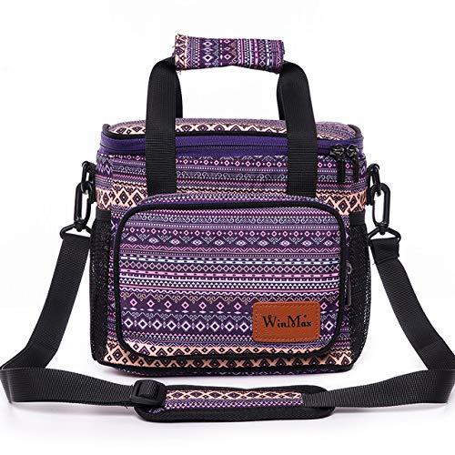 Bolsas más frescas Nuevas bolsas frías negras grandes y gruesas para hombres, mujeres, portátiles, funcionales, contenedor de hielo, bolsa térmica para almuerzo con aislamiento