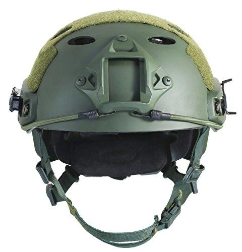 OneTigris PJ Mode Leichtbau Taktische Schnelle Helm für Airsoft Paintball (Armee Grün)
