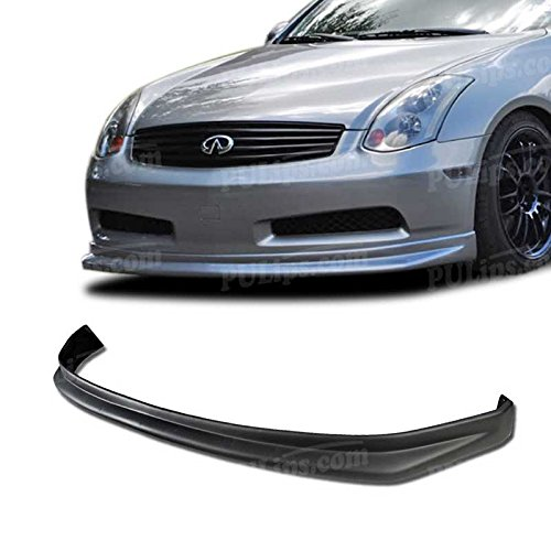 PULIps IFG35203N1FAD - N1 Style Front Bumper Lip For Infiniti G35 Coupe 2003-2007