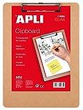 APLI 14684 - Clipboard in legno A4