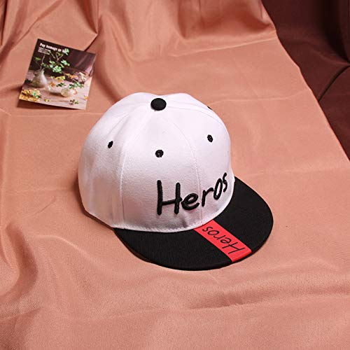 wtnhz Fashion items Three-dimensional embroidery English hip-hop children's baseball cap Korean hip-hop cap