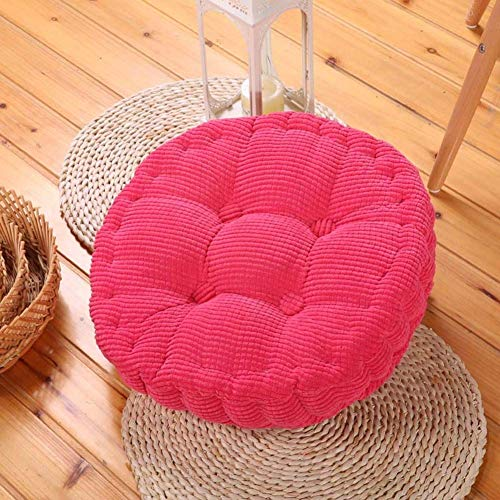 NSYNSY Bean Bag Beanbag Footstool, Removable Footrest Ottoman Pouffe Seat Cushioning Children Stool Cotton And Linen Cover Chair Seat-red 40x40x25cm