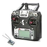 FlySky FS-i6X Transmitter and FS-X6B 6 Channel 2.4GHz Receiver Radio Remote...