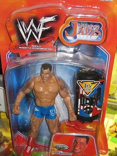 Kurt Angle Signature Jams WWF