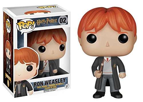 Funko Pop! Harry Potter: Ron Weasley con el uniforme de Hogwarts