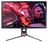 ASUS ROG Swift 27' 4K Gaming Monitor (PG27UQ) - UHD (3840 x 2160), IPS, 144Hz, 4ms, G-SYNC Compatible, Aura Sync, VESA Mountable, DisplayPort, HDMI, Height Tilt Swivel Pivot Adjustable