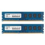 ROYEMAI 8GB Kit (2X4GB) DDR3 RAM, DDR3 1333MHz PC3-10600 PC3-10600U 4GB DDR3 2Rx8 240-pin Dimm CL9 1.5V Desktop RAM Memory Module