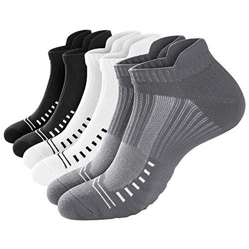 6 Pair Ankle Athletic Running Socks for Men & Women $8.80 (60% OFF)