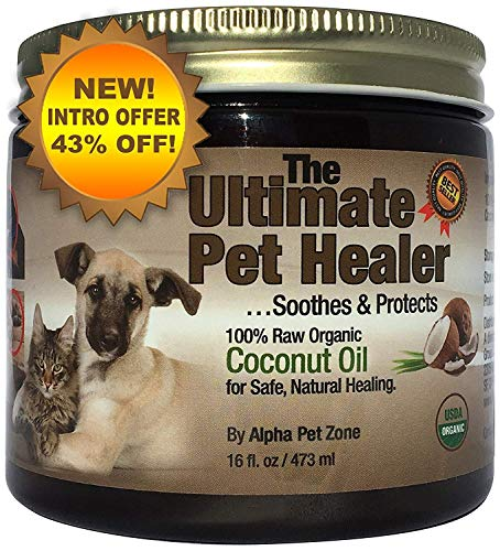 Alpha Pet Zone Coconut Oil for Dogs