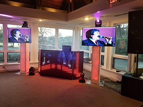 For Sale! LED INTERACTIVE DJ BOOTH (FACADE) 5 PANELS, 2 INCH PIXELS