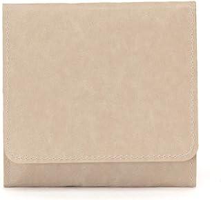 SIWA(シワ) コインケース スナップ付き 特殊な和紙で作られた軽くて風合いの良いコインケース ブラウン