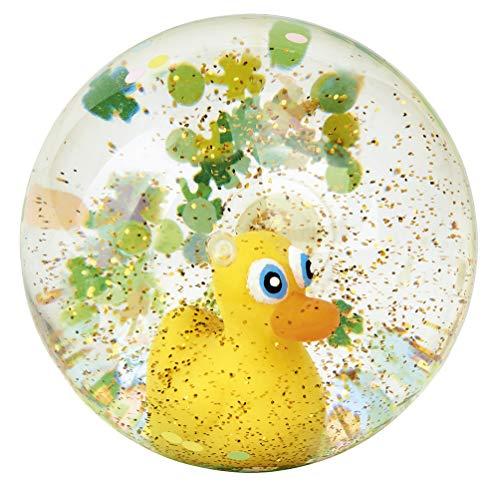 Moses. 29176 QuEntchen Glückskugel Flummi   Springball mit Ente   Für Kinder, bunt