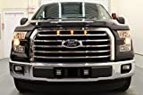 Starkey Products 2015-2017 Raptor Style LED Amber Grille Lights Kit - Fits Ford F-150