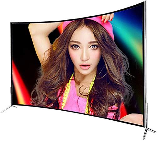 Smart TV, 32/42/55/60 Zoll gebogener UHD 4K-Fernseher Full HD Android Eingebautes WiFi IPS LED Smart Internet Fernseher HDMI