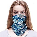 Alittle 3 Piezas Pasamontañas Bufanda Multiuso Máscara Facial de Tubo de...