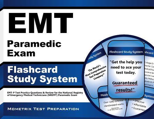 EMT Paramedic Exam Flashcard Study System: EMT-P Test Practice Questions & Review for the National Registry of Emergency Medical Technicians (NREMT) Paramedic Exam (English Edition)