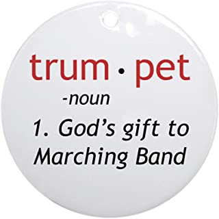 CafePress God's Gift Trumpet Ornament (Round) Round Holiday Christmas Ornament