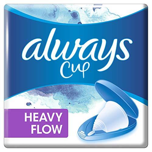 Always - Copa menstrual para períodos de mucho tiempo (21 g)