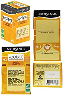 شاي رويبوس العضوي المريح من نوتريسينس، 26 غرام