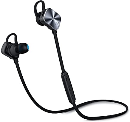 Mpow Ecouteur Bluetooth,Casque Bluetooth Sport,IPX7,Ecouteur Bluetooth Intra-Auriculaire,Ecouteur Sans Fil,Antibruit,Micro intégré ,175H en Veille,Ecouteur Bluetooth Sport pour iPhone, Android