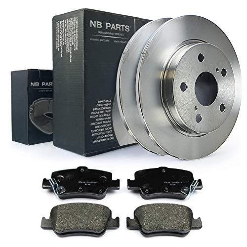 Bremsscheiben + Bremsbeläge hinten NB PARTS GERMANY 10045586