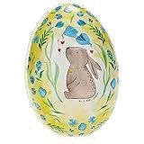 com-four® Uovo di Pasqua da riempire - Uovo colorato da riempire per Pasqua - Grande Uovo di Pasqua con Motivi pasquali [la Selezione Varia] (01 Pezzo - colorato - Mr. & Mrs. Panda)