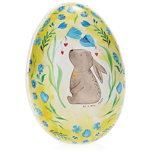 com-four® Huevo de Pascua para Rellenar - Huevo de Pascua para Rellenar de Colores - Huevo de Pascua Grande con Motivos de Pascua [la selección varía] (01 Pieza - Colorido - Mr. & Mrs. Panda)