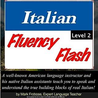 Italian Fluency Flash 2 audiobook cover art