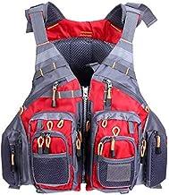 Jinghuash Adult Swimming Life Vest,Multi Pockets,Fishing Life Vest,Sailing,Kayaking,Boating,Rescue Jacket
