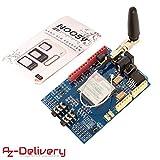 AZDelivery SIM900 GPRS/GSM Shield con E-Book incluido!
