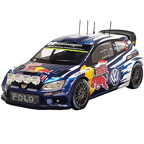 Volkswagen 6C1099300b Modelo Auto Polo R WRC–latvala/anttila 1: 43