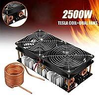2500W ZVS誘導加熱ボードモジュール低電圧高周波12-48VフライバックドライバーヒーターDIY高周波誘導加熱機モジュール