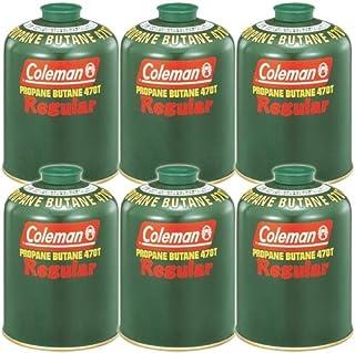 [まとめ買い!コールマン] 純正LPガス燃料(Tタイプ)470g 5103A470T ×6缶セット
