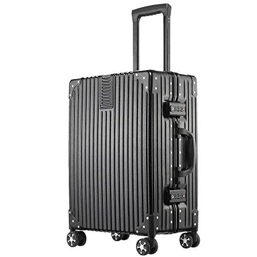 (アスボーグ)ASVOGUE スーツケース キャリーケース TSAロック 半鏡面仕上げ アライン加工 アルミフレーム ...