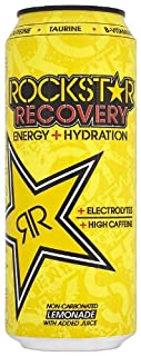 Rockstar Recovery Energy Drink 500ml - Pack of 12 (B0048F5YRW) | Amazon price tracker / tracking, Amazon price history charts, Amazon price watches, Amazon price drop alerts