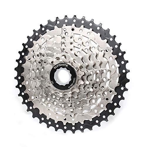 CLOUDH Bicicleta Cassette 8,16,24 Velocidad 11-40T Montaña de La Bicicleta del Volante, Piezas Modificada Adecuadas para MTB, BMX Shimano (EF500, EF51, EF65, M310, M360, M410) SRAM (X3, X4, X5, X7)
