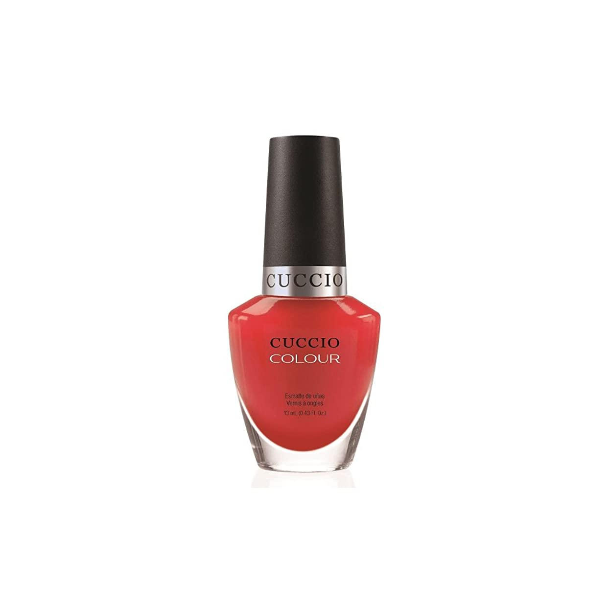 スマイル遠足バドミントンCuccio Colour Gloss Lacquer - Bloody Mary - 0.43oz / 13ml